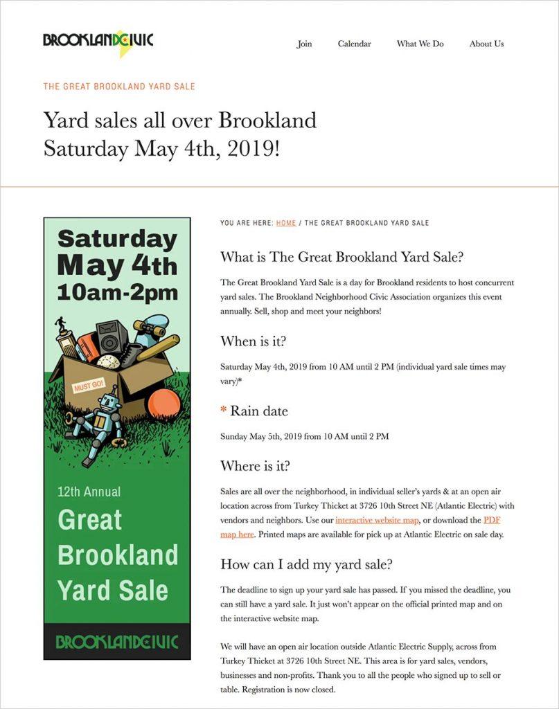 GreatBrooklandYardSale.com
