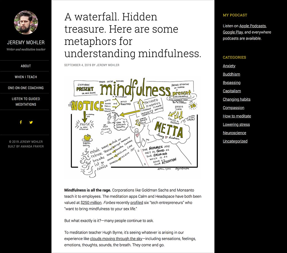 Jeremy Mohler Blog