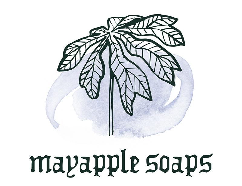 Mayapple Soaps logo